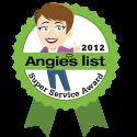 Angie;s List Super Service Award 2012
