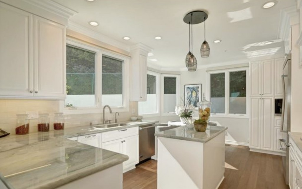 Studio City white kitchen remodel