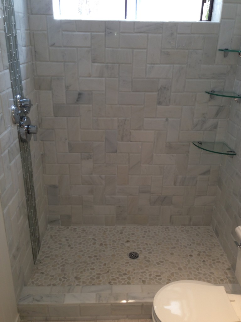 Marble Subway Tile Shower Eden Builders
