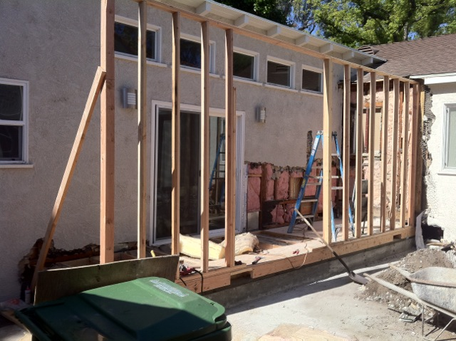 Living Room Extension – Sherman Oaks