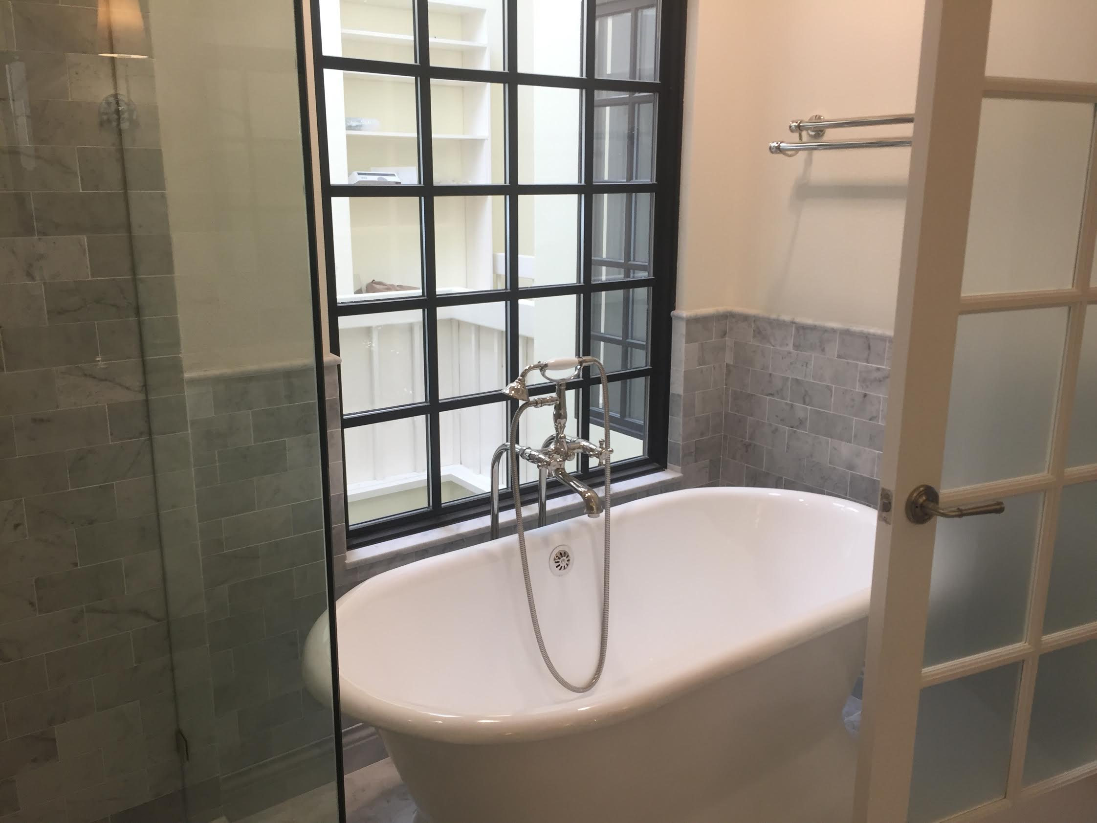 Freestanding Tub Master Bathroom Pacific Palisades | Eden Builders