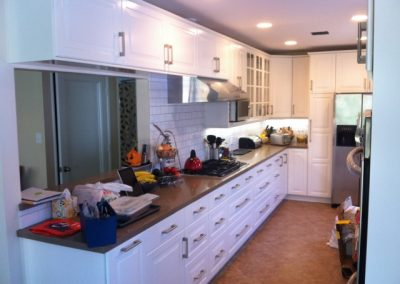 Galley Kitchen Remodel La Crescenta