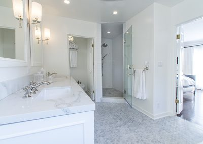 2 High-End Bathrooms Remodeled in West Hollywood