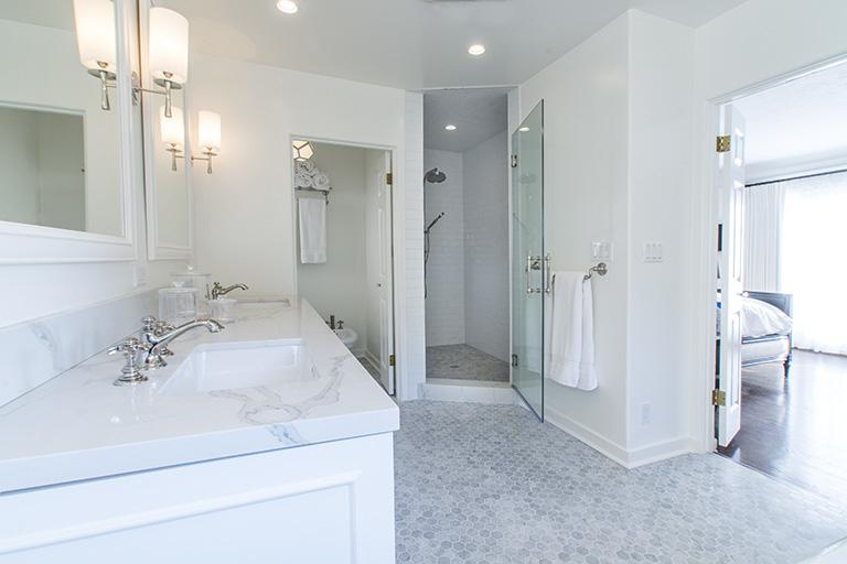 2 High End Bathrooms Remodeled In West Hollywood Eden