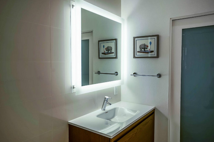 Condo Bathroom Remodeled in Santa Monica by Eden Builders