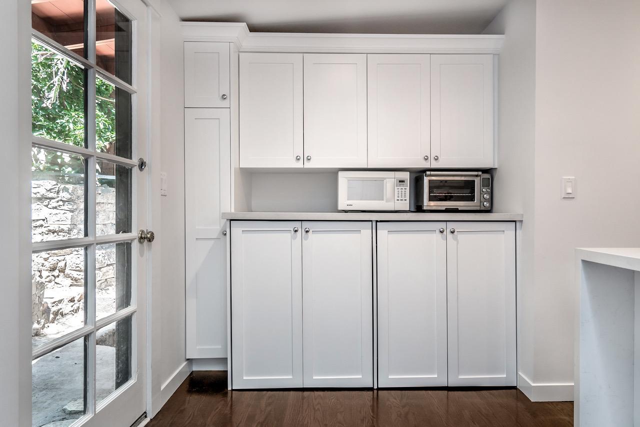 Kitchen Remodeled Studio City With Barn Door Pantry Eden