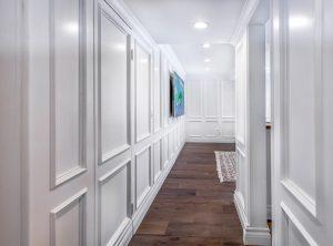 Tarzana paneled hallway
