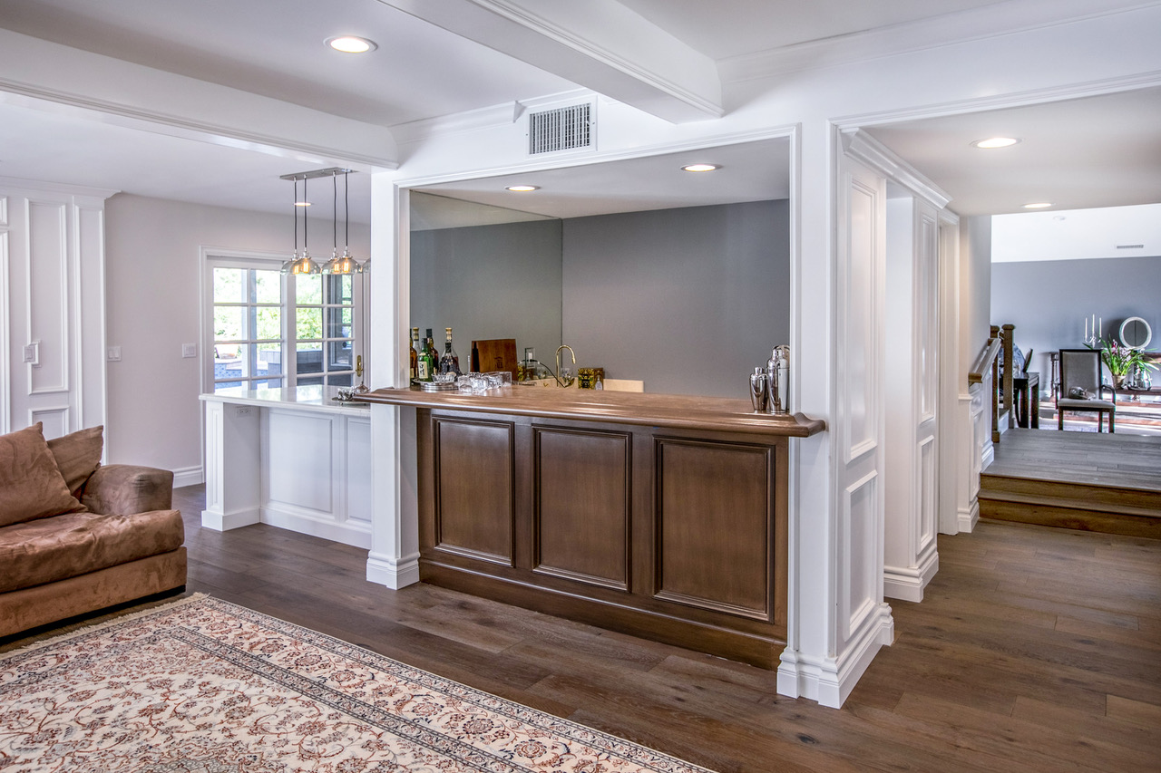 Tarzana Kitchen, Bathroom & Bar Stunning Home Remodel | Eden Builders