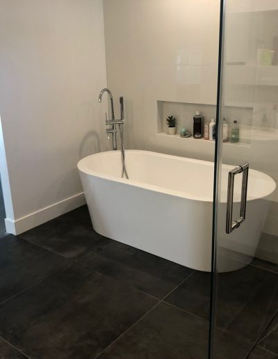 free standing tub and faucets with hand shower