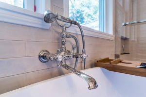 elegant tub fixtures and hand shower