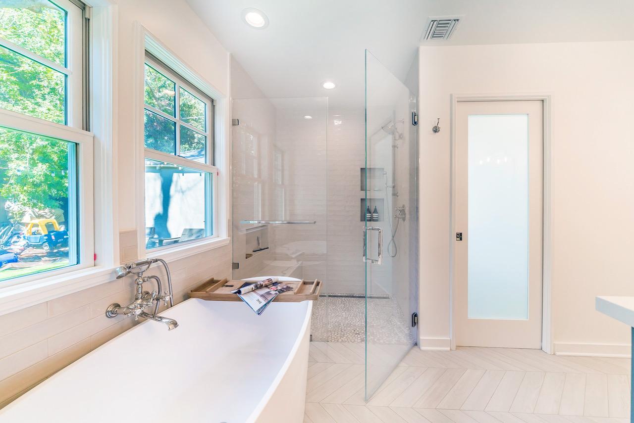 Master bedroom bath with walk in closet addition in - Houzz master bedroom walk in closets ...