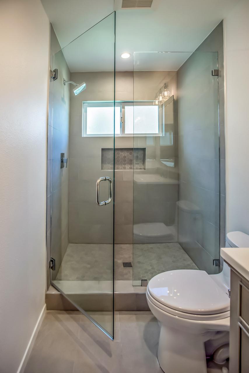 Tub To Shower Conversion In Calabasas Bathroom Update Eden