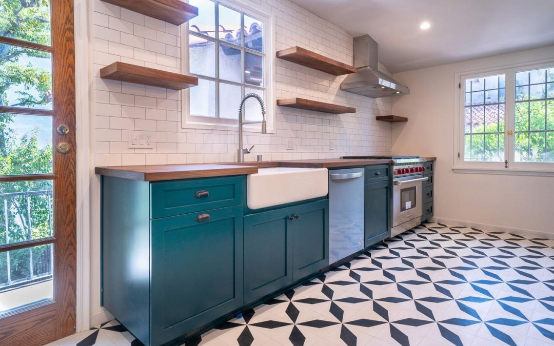 Los Feliz Home Remodel – Custom Built Kitchen & 2 Bathrooms