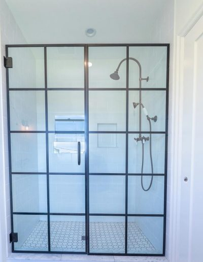 paned-shower-door