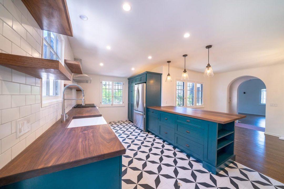 Los Feliz Custom Built Kitchen