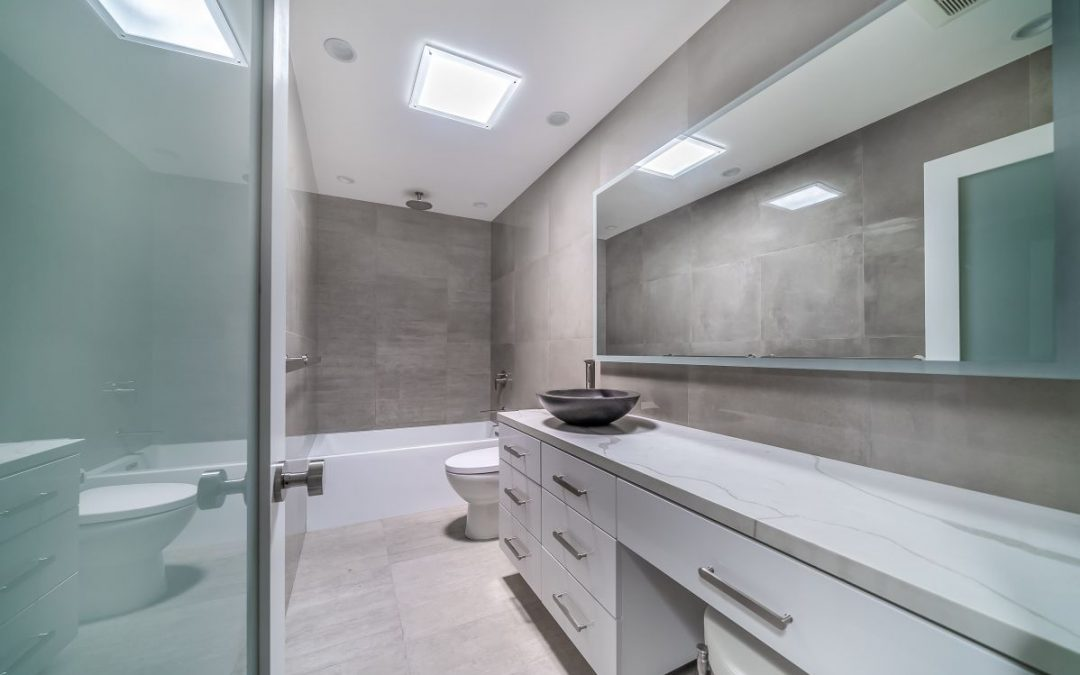 Woodland Hills Bathroom Remodel with Skylights