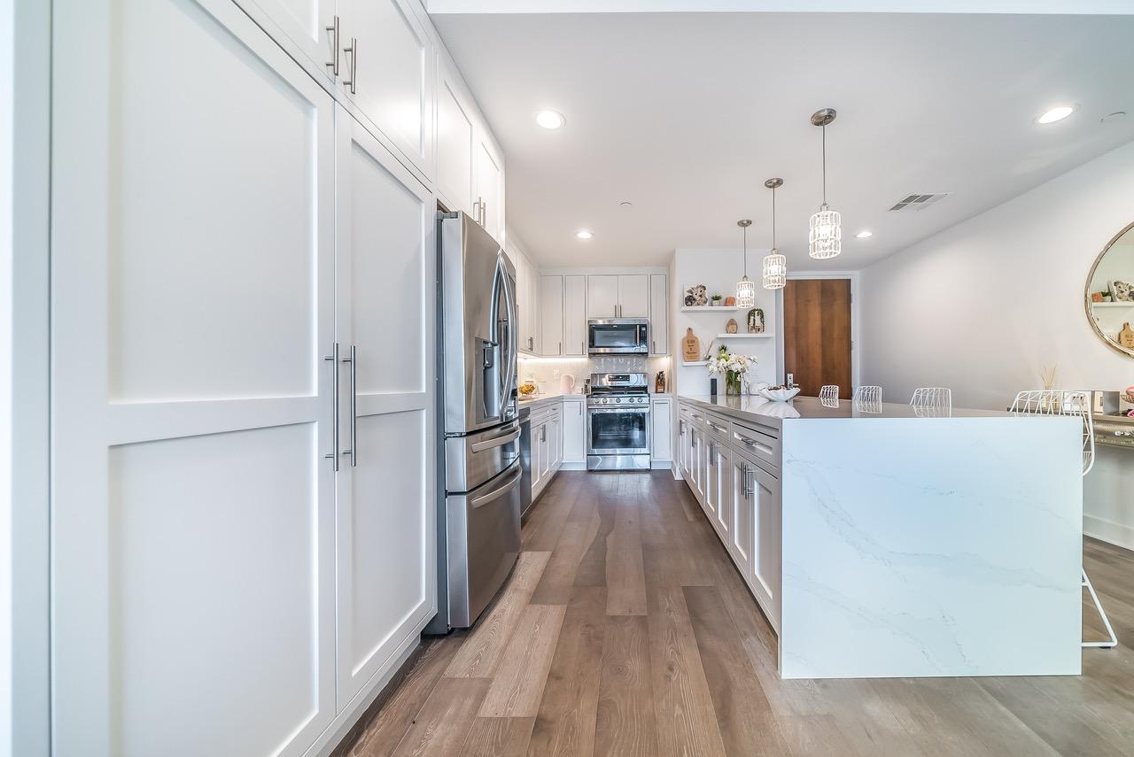 marina-del-rey-long-kitchen-island | Eden Builders
