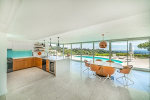 Bel Air views from kitchen and dining room