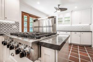 Farmhouse Mediterranean style kitchen remodel